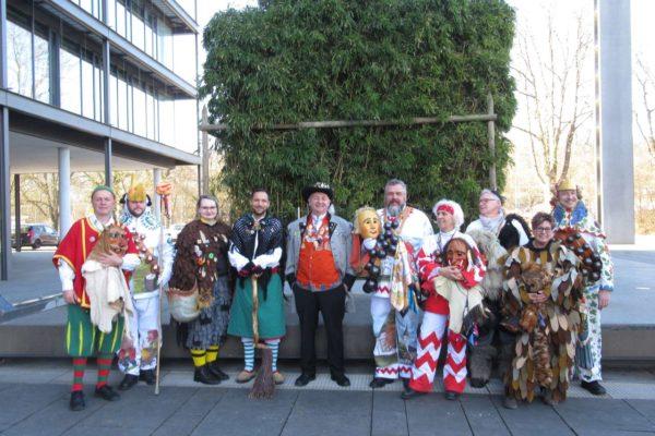 Besuch Regierungspräsidium Tübingen 2019